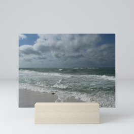 When The Sea Meets The Sky Mini Art Print
