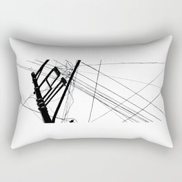 Wires #1 Rectangular Pillow
