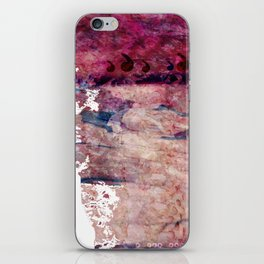 Pink landscape iPhone Skin