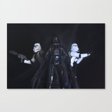 I find your lack of faith disturbing... Canvas Print
