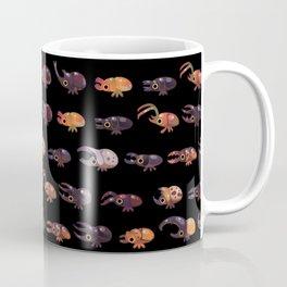 Rhino and Stag - dark Coffee Mug