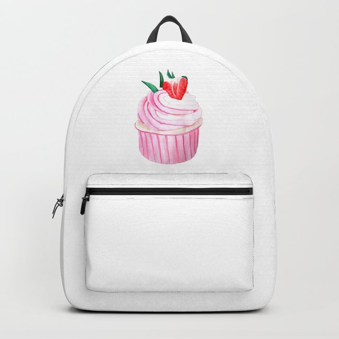 Strawberry Cupcake Backpack