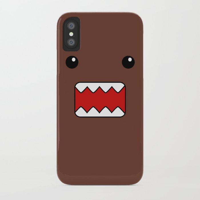 domo kun brown japanese monster iphone case by cutecutecute society6