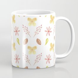Modern Beauty Flower Pattern Design Coffee Mug