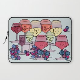 Wine and Grapes Laptop Sleeve