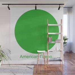 American Green Wall Mural