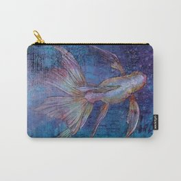 Indigo Goldfish Carry-All Pouch