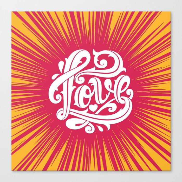 Love Thorns Canvas Print