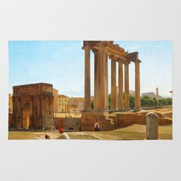 The Roman Forum Rug