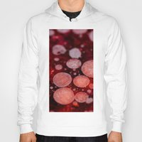 grease Hoodies featuring Bacon Grease Blood Cells by Lyssia Merrifield