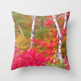 Autumn Decor Throw Pillow