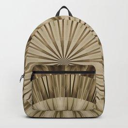Urban Tribal Wood Mandala Backpack