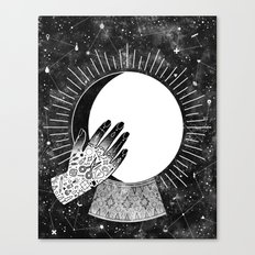 Waxing Gibbous Canvas Print