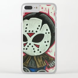 Baby Jason Clear iPhone Case