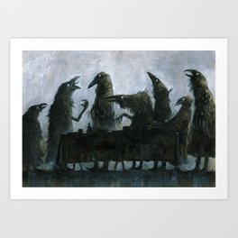 7Ravens - Table Art Print