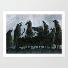 7Ravens - Table Kunstdrucke