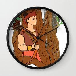figure legends Indonesia 3 Wall Clock