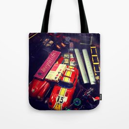 CAUTION! TOTALLY VINTAGE Tote Bag