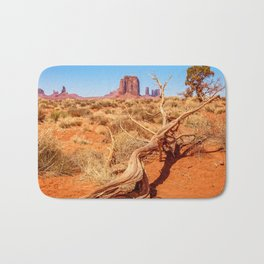 That way to Artist Point -Monument Valley Bath Mat