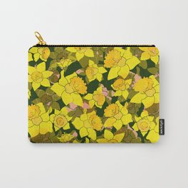 Daffodil Forest Carry-All Pouch