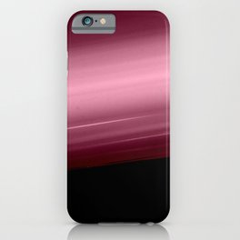 Merlot Wine Smooth Horizon Ombre iPhone Case