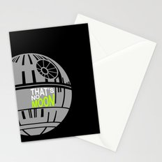 That's No Moon Stationery Cards