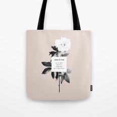 Como Se Flor Tote Bag