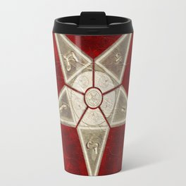 Symbols of the Occult Travel Mug