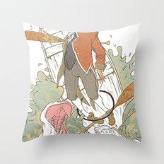 Boat Rocker Throw Pillow