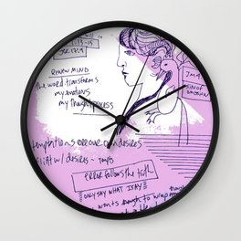 A Friend of the Truth Wall Clock