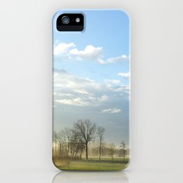 NATURE WAKE UP iPhone Case