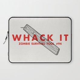 Whack it - Zombie Survival Tools Laptop Sleeve
