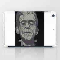 frankenstein iPad Cases featuring Frankenstein by Paxelart