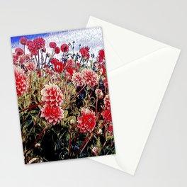The dahlias of longwood gardens Stationery Cards