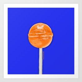 Pop Orange Art Print
