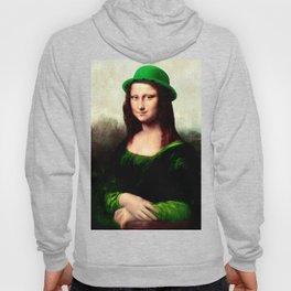 Lucky Mona Lisa - St Patrick's Day Hoody
