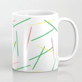 Fallen Toothpicks Coffee Mug