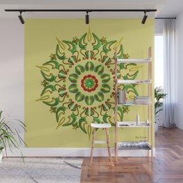 Mandala Reggae Wall Mural