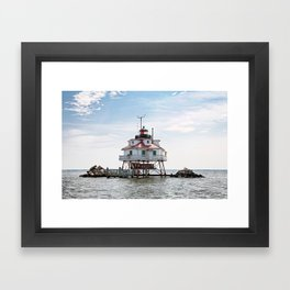 Thomas Point Lighthouse Framed Art Print
