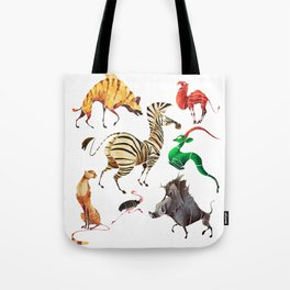 African animals 2 Tote Bag