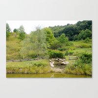 tennessee Canvas Prints featuring TENNESSEE by redheadgraphics