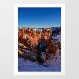 Natural_Bridge 8376 - Bryce_Canyon_National_Park, Utah Art Print