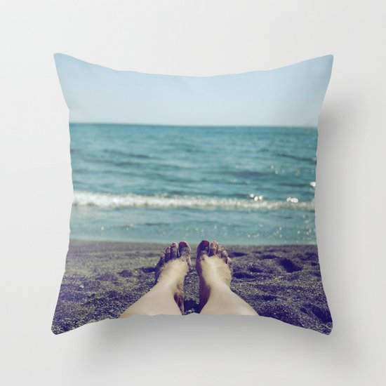 Float Away Throw Pillow