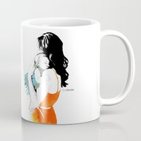 mother Mugs featuring Mother by la belette rose