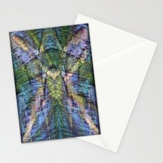 Chalk Drawing Abstract Stationery Cards