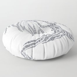 Weeping Willow Tree Floor Pillow