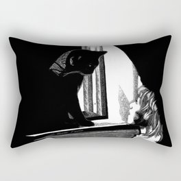 Two Curious Rectangular Pillow