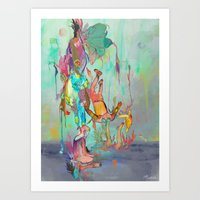 archan nair Art Prints featuring Soulipsism by Archan Nair