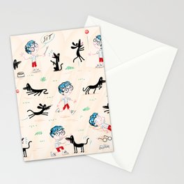 A Boy and His Dog Stationery Cards