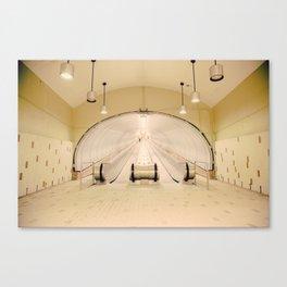 Montreal Subway | Métro de Montréal Canvas Print